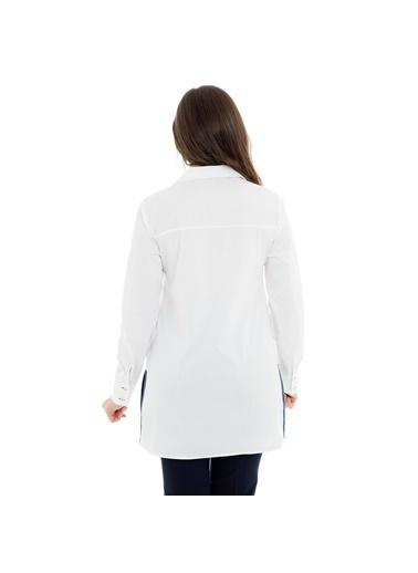 Modailgi Gömlek Beyaz